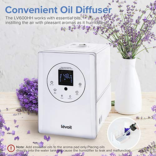 Letmy Ultrasonique Cool Mist Humidificateur 250 ml Whisper Quiet Purificateur d/'Air avec...
