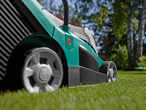 Bosch AdvancedRotak 36-650 Cordless Lawnmower with 36 V 4.0 Ah Lithium-Ion Battery (1 Battery, 50 Litre Grassbox, 36 V…