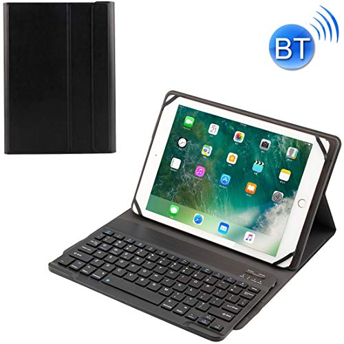 dayday Light and beautiful TY-1031 Universal Bluetooth 3.0 ABS Brushed Texture Keyboard + Leather Case for iOS, Windows, Android Tablet PC Between 9-10.5 inch,With durability and excellent prote