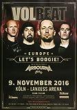 Volbeat - Let`s Boogie, Köln 2016 » Konzertplakat/Premium
