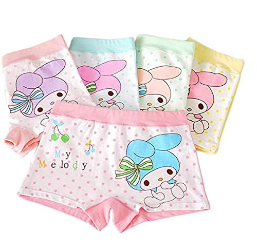Wxllzlife Toddler Little Girls Kids Underwear Cotton Kids Boyshort Girls