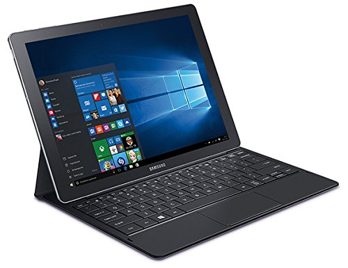 Samsung Galaxy TabPro S Tablet, Display 12.0' FHD, Processore Intel Core M 2.2 GHz, 4 GB RAM, Camera Frontale 5 MP, Wi-Fi, Nero