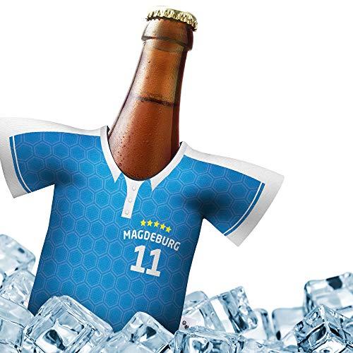 Herren Trikot 2019/20 kühler Home für FCM Fans | FUßBALL-Gott | 1x Trikot | Fußball Fanartikel Jersey Bierkühler by Ligakakao