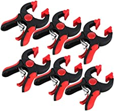 FactorDuty 6-Piece Heavy Duty Ratchet Clamp with Ratcheting Mechanism Adjustable clamp for DIY Woodworking Photography Studios 1