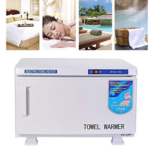 potente para casa Esterilizador ULTRAVIOLETA del armario de la toalla del armario de la toalla del calentador de la toalla blanco…