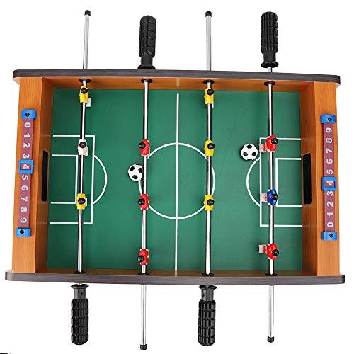 Zerodis Wooden Foosball, Mini Tabletop Football Foosball...