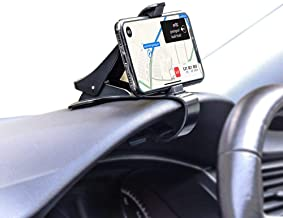 Car Mount, HUD Smart Phone GPS Holder, Universal Cradle Adjustable Non-Slip Holder for Safe Driving for iPhone X / 8 / 8Plus / 7 / 7Plus, Samsung Galaxy S8 / S8+ / Note 8 and All 4 to 6.5 inch Smartph