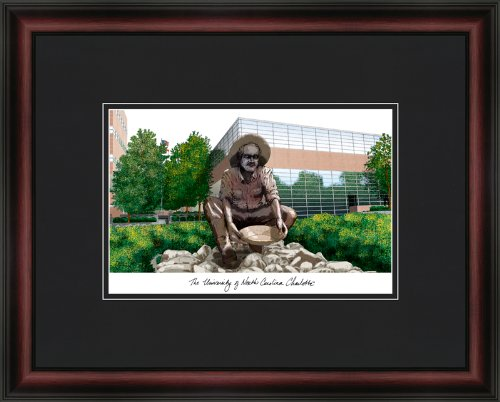 Campus Images NC993A University of North Carolina, Charlotte Academic Gerahmter Kunstdruck, Lithografie