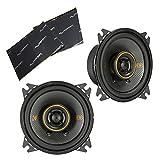 "Best Harmony Audio Car Speakers - Kicker 47KSC404 Car Audio 4"" Coaxial 300W Peak Review"