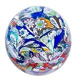 Caithness Glass U17046 Millefiori-Fingal's Cave, Multi, 8 x 8 x 7.5 cm