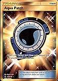 Pokemon Aqua Patch - 161/145 - Secret Rare - Sun & Moon: Guardians Rising