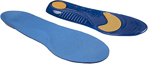 PRO 11 WELLBEING Pro11 Professional Series Sports Walking Orthotic Insoles with Shock Absorbent Metatarsal and Heel pad for Plantar Fasciitis