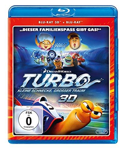 Turbo - Kleine Schnecke, großer Traum (+ Blu-ray 2D)