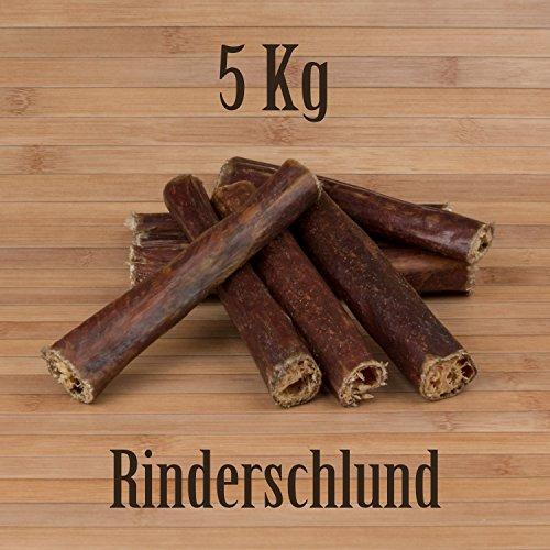 Kauzeit 5 Kg Rinderschlund Dörrfleisch Rinderdörrfleisch - wie Ochsenziemer Rinderohren