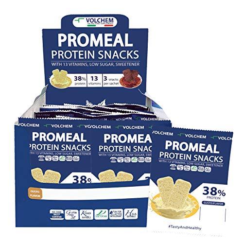 Volchem Promeal Protein Snacks 38 White, White Chocolate, 600 G