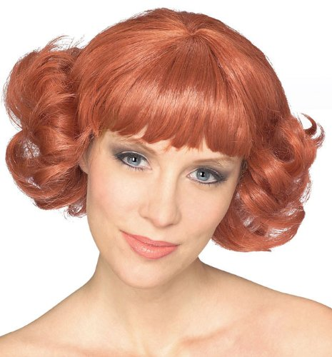 Rubie's Adult Cutie Flip Wig, Auburn