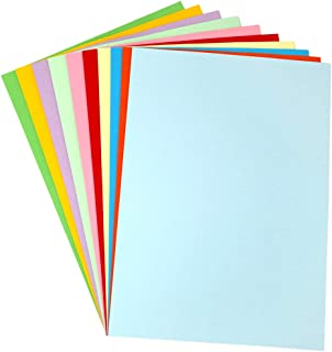Colored Paper,Origami Paper,100 Sheets A4 Stationery Paper,120GSM Arts Crafts Paper for Inkjet and Laser Printers,8.3 x 11.7 Inches