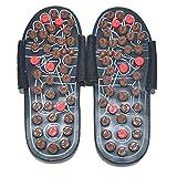 SHIDEDIAN Unisex Magnetic Foot Massage Slippers for Women Men Reflexology Sandals Sharp Acupressure Slippers Foot Therapy Massage Slippers with Acupuncture Points for Plantar Fasciitis Pain Relief