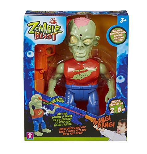 Zombie Blast - Set con figurina di Zombie e Pistola per abbatterlo