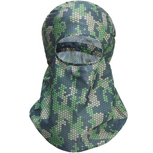 HECS Hunting HECStyle Adjustable Head Cover - Breathable Face Mask -...