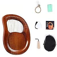 ライヤピアノyre16弦ライヤピアノ初心者ニッチ楽器リラハープ工場直販 R210118 (Color : Wood color)