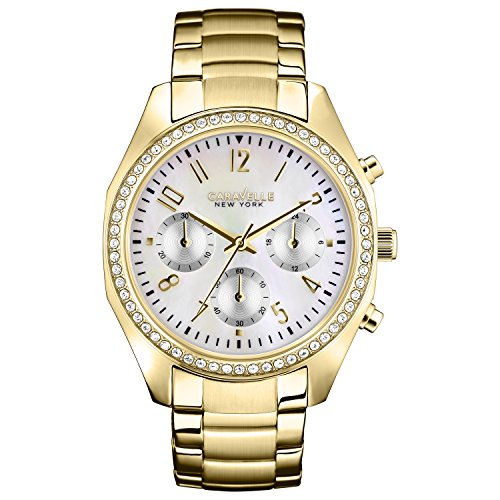 Caravelle NY Ladies Crystal 44L114 - Orologio da Polso Donna