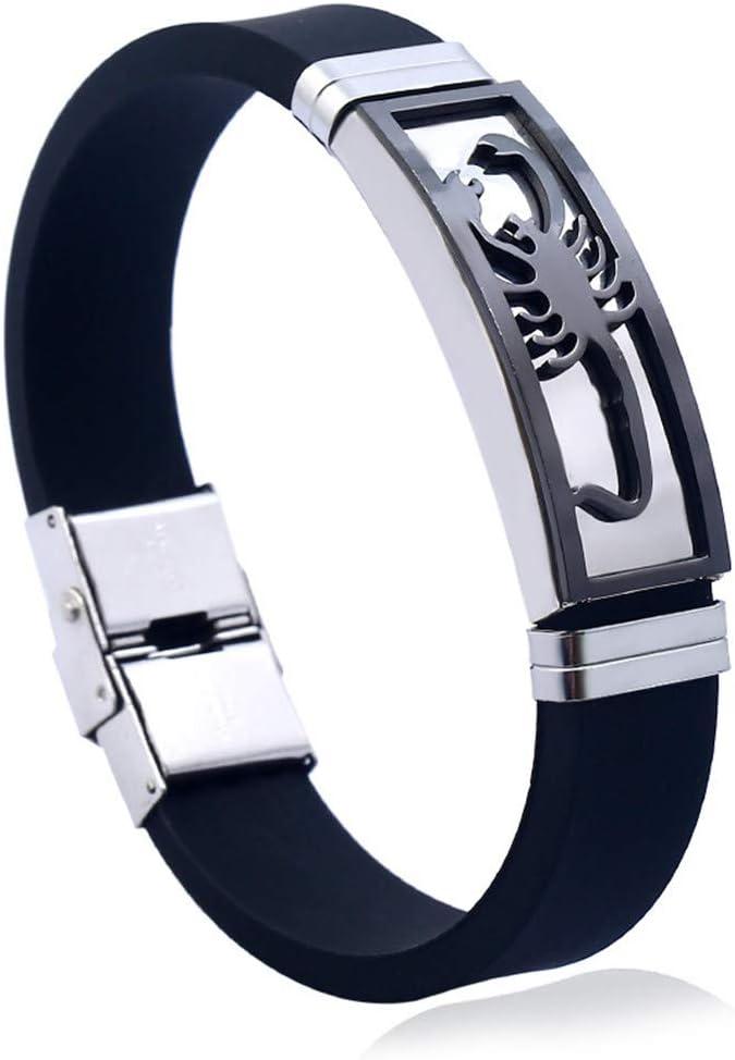 MERSDW Men's Bracelets price Max 44% OFF Fashion Jewelry Steel Smooth Sil Titanium