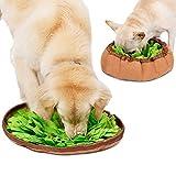 Snuffle Mat Alfombra Snuffle para Perro, Sniffing Mat Alfombrilla de Entrenamiento Alfombra de Juego Olfato para Gato Dog Cachorro Manta Alfombra de Alimentación Lento Juguete Interactivo para Perro
