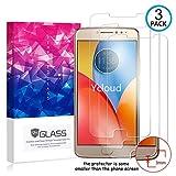 Ycloud [3 Pack] Protection écran pour Motorola Moto E4 Plus, [9H Hardness, Anti-Rayures] Verre...