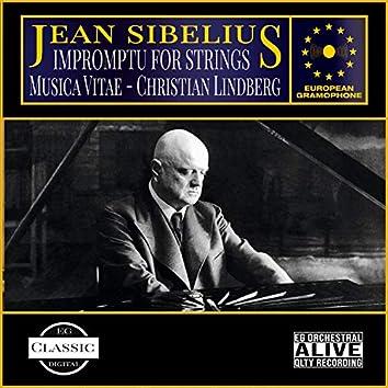 Sibelius: Impromptu for Strings