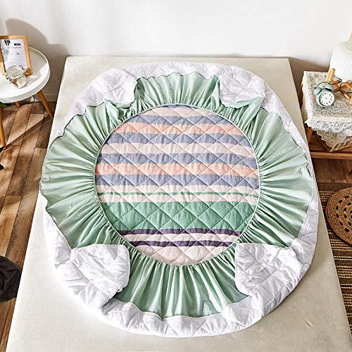 GTWOZNB Protector de colchón, con Aloe Vera, (Todas Las Medidas) Funda Protectora de colchón de algodón-3_1.5 * 2.0m
