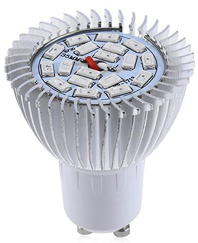 langboss 8W 18SMD 5730Full Spectrum GU10LED Grow Licht für Hydrokulturen, Gewächshaus llghting, Pflanzen blühend, werden