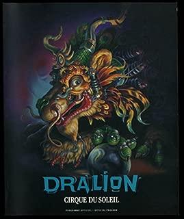 Cirque du Soleil Dralion Official Souvenir Program 1999-2001
