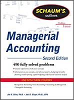 Schaum's Outlines Managerial Accounting