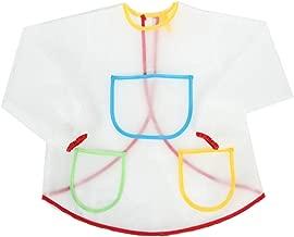 WOVELOT Tablier Blouse de Peinture Etanche Anti-Usure pour Costume de lArtisanat des Enfants