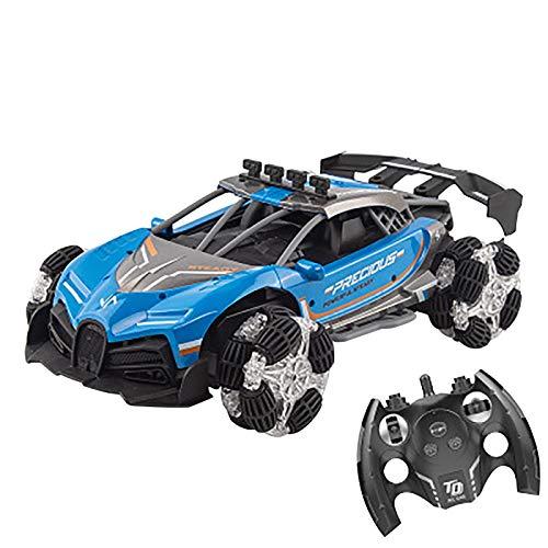 2.4Ghz Control remoto eléctrico Drift Racing, simulación de nitrógeno Jet Racing con luces coloridas música dinámica, niños niñas juegos de interior al aire libre