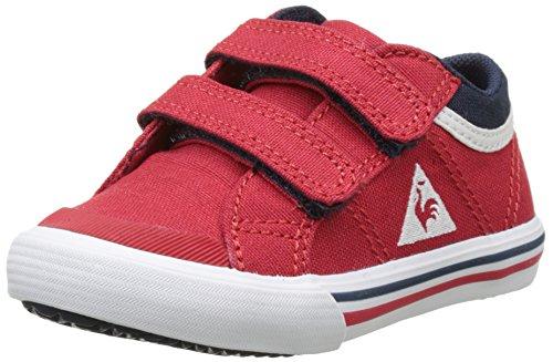Le Coq Sportif Saint Gaetan INF CVS, Baskets Garçon Unisex Kinder, Rouge (Vintage Red/Dress BL), 21 EU