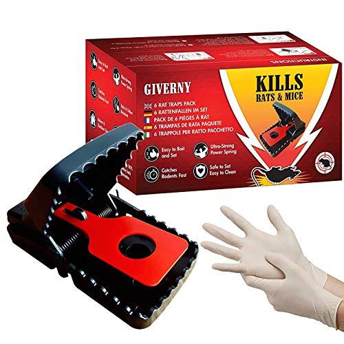 Trampas Para Ratas Grandes Eléctrica Marca Giverny