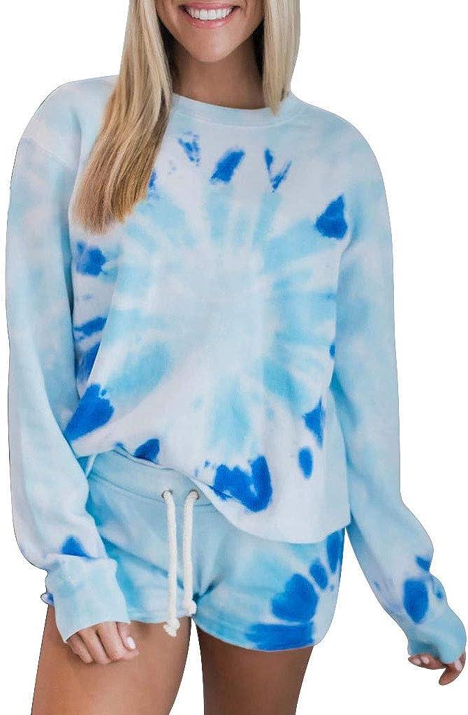 Tie Dye Pullover Women/'s Large Hoodie -Cropped Tie Dye Sweatshirt Tie Dye Lightweight Cropped Hooded Sweatshirt