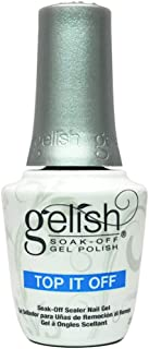 Gelish soak off sealer gel top it off