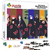 1000 Piezas Puzzle para Adultos NiñOs Naruto Anime Japón Dibujos Animados Educativo Madera 75x50 CM Arte CláSicos Juego De Rompecabezas Adolescentes Infantil Toda La Familiar Regalos Puzle Creativo