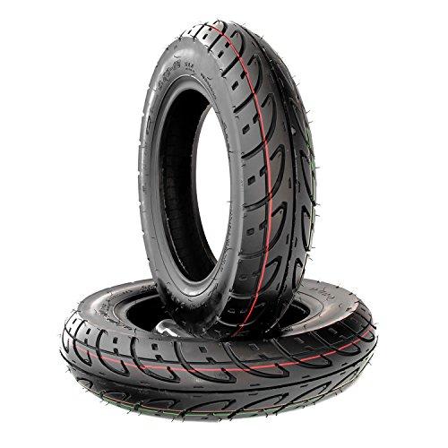 Innova Roller Reifen Set 2 x 3.50-10 51J Qingqi (Jinan Qingqi) V-Clic, Rex Speedy 125, RS 400, 500, RS 450, 460 (Duro)