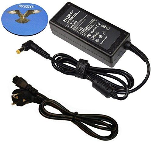 HQRP Cargador/Adaptador de CA para Acer Aspire 1 3 ES 11 ES 17 ; A114-31 A315-31 A315-51 E5-575G ES1-132 ES1-732 + HQRP Posavasos