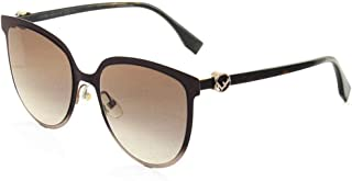 FENDI Women's FF 0330/F/S 3X Sunglasses, 57