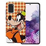 WiLLBee Compatible with Galaxy S20 Case (6.2inch) Cute Layered Hybrid [TPU + PC] Bumper Cover - Grid Goofy