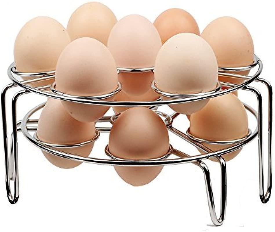 Steamer Rack Colorful PoPo 2 Pack Stainless Steel Steamer Rack For Instant Pot And Pressure Cooker Egg Vegetable Cooler Stand Basket Set Eggassist