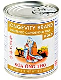 壽星公煉奶 Longevity Sweetened Condensed Milk, Gold, 14-oz (Pack of 4)