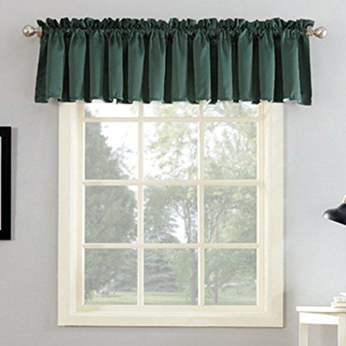 "Sun Zero Barrow Curtain Panel, 54"" x 18""-1, Everglade Green"