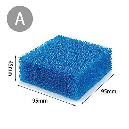 lembrd Filterspons, spons voor whirlpool, filter zuigspons voor zwembaden – perfect zwembad, whirlpool-zuigvuil en schuim