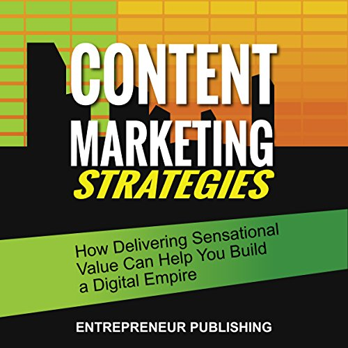Content Marketing Strategies audiobook cover art